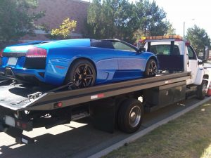 luxury vehicle towing